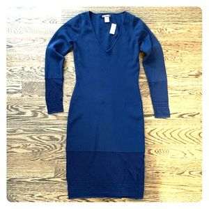 Zac Posen Crochet Knit Fitted Dress - Classic Chic